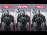 4K Witcher 3 PC vs. PS4 Pro vs. Xbox One X 4K Mode Frame Rate Test &amp Graphics Comparison