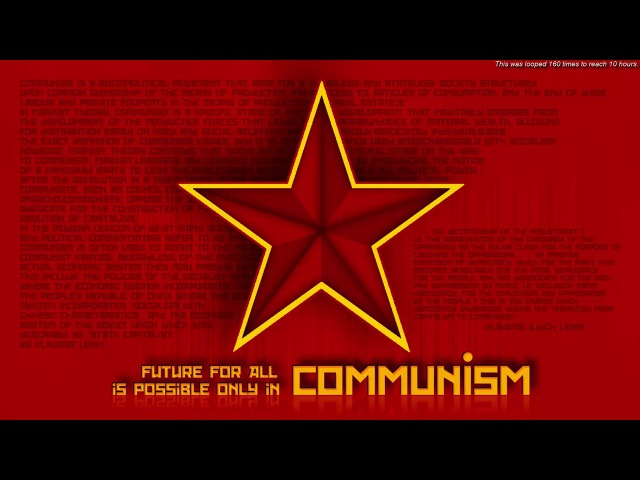USSR National Anthem 10 hours (Государственный гимн СССР 10 часов)