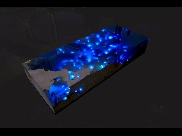 """""""STARRY SEA 5"""" by LA TABLE : Design - Alexandre Chapelin."""
