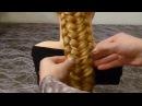 Коса Рыбий хвост-Ажурная. Колосок.Причёски детям в школу. Плетение косичек для длинных волос