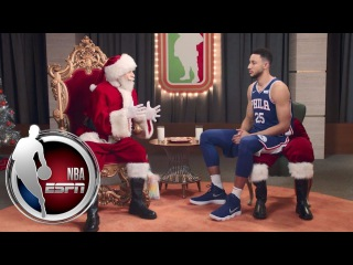Santa has an interesting gift for Ben Simmons | ESPN