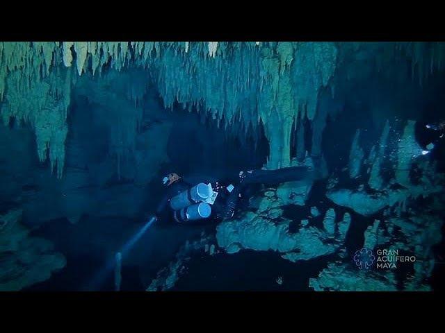 В Мексике обнаружили крупнейшую в мире затопленную пещеру