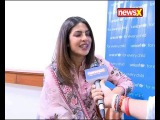 Bollywood actress Priyanka Chopra in an exclusive interview with NewsX