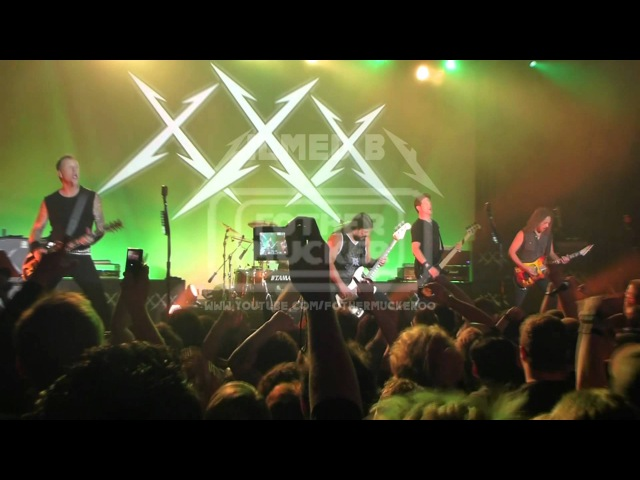 Metallica with Jason Newsted Whiplash LIVE San Francisco, USA 2011-12-10 1080p FULL HD