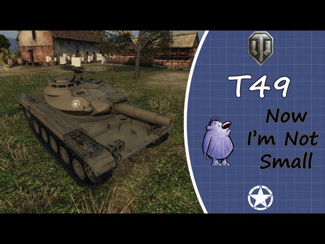 WOT PS4 T49 Ace Tanker With Music