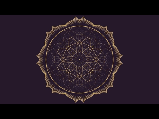 741 Hz ❯ Remove Toxins Negative Thoughts ❯ Mandala Meditation Music