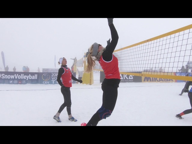 Quick Pick Women - 2018 European Snow Volleyball Tour Plan de Corones/Kronplatz (ITA)- Day 1