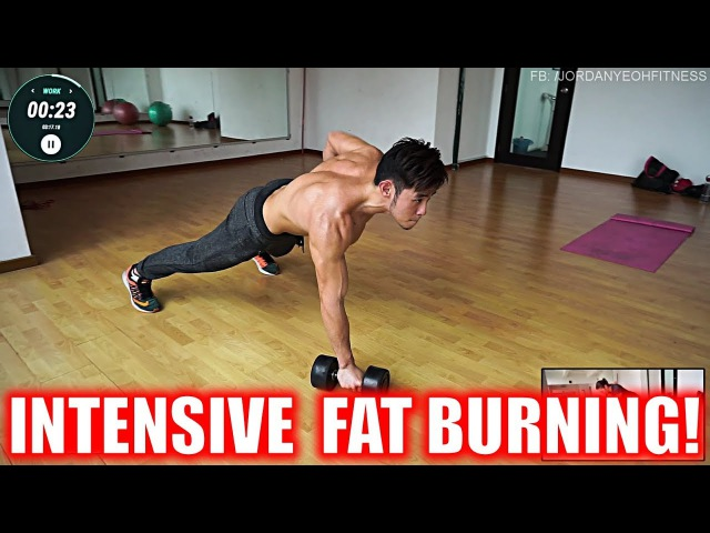 Intensive Fat Burning Workout with Resistance