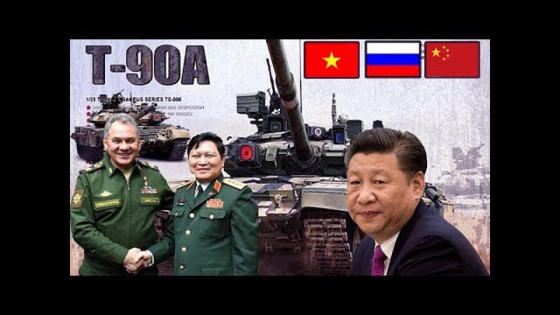 Hợp tác q.uốc p.hòng Nga Việt 2017 khiến TQ ghen tị