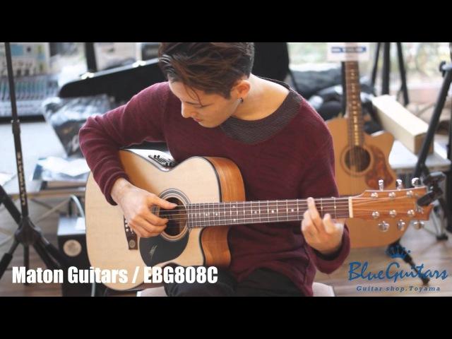 【Blue Guitars】井草聖二(Seiji Igusa) feel the Maton Guitars(メイトン) !!