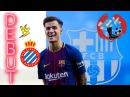 Philippe Coutinho Debut For Barcelona ● Коутиньоның Барселонадағы дебюті