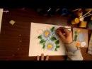 Мастер класс ромашки в разных техниках росписи