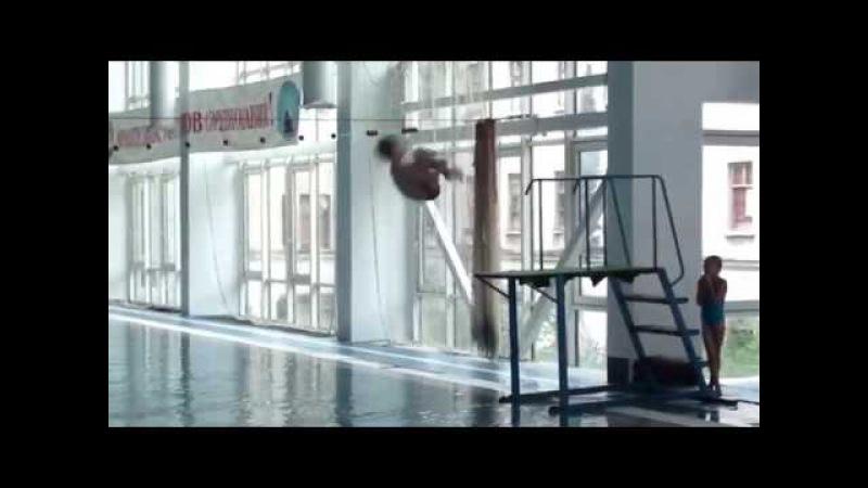 Соревнованя по прыжкам в воду 04.11.17 Севастополь 1 запрыг