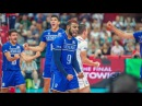 Top 5 Slam Dunk attack by Earvin Ngapeth | 3rd meter spike |Line shot