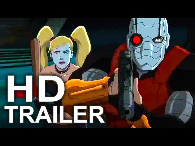 SUICIDE SQUAD Hell to Pay Official Trailer 1 NEW (2018) Harley Quinn, Deadshot DC Animated Movie HD
