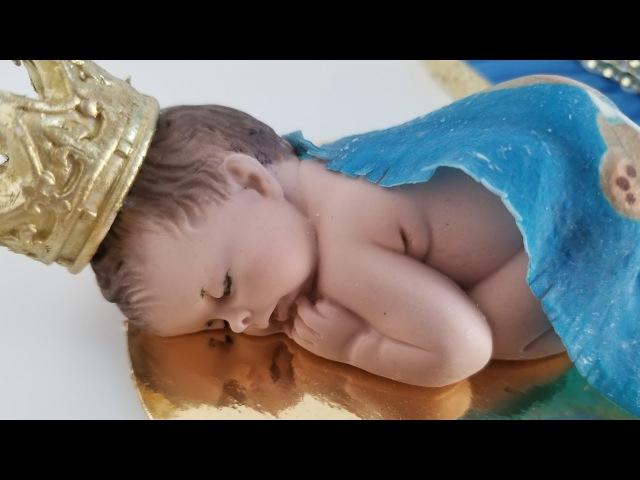 Pastel de baby shower para un príncipe 😍 temática Royal Prince