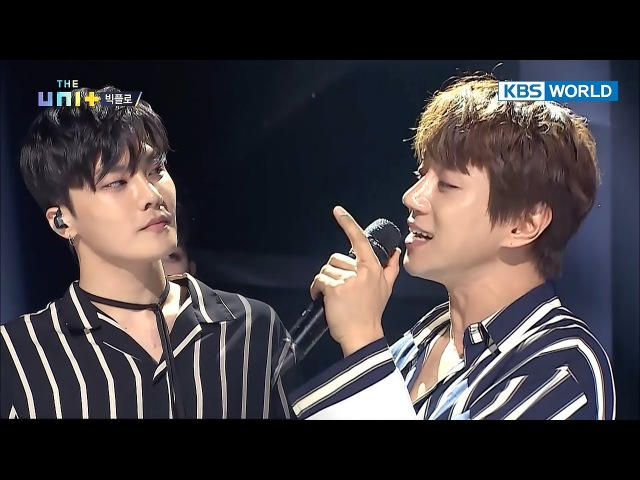 Hwang Chi Yeol Bigflo Lex's 'A Daily Song' duet... Only on 'The Unit'! [The Unit/2017.12.20]