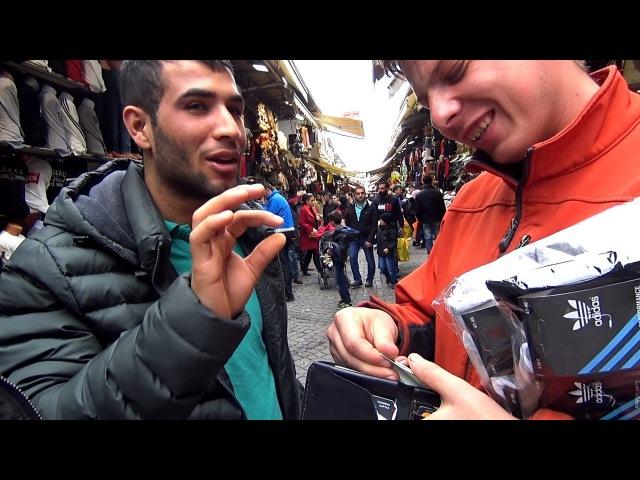 ПРОГУЛКА ПО СТАМБУЛУ! популярный рынок АКСАРАЙ. настоящие торгаши