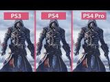 [4K] Assassins Creed Rogue – Original PS3 vs. PS4 and PS4 Pro Remastered Graphics Comparison