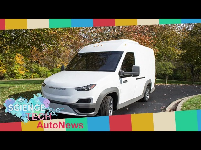 Breaking News - Workhorse to test electric vans in California, Ohio