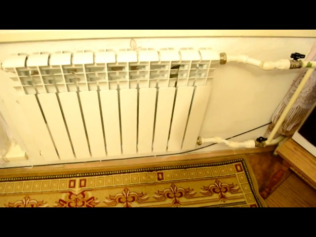 Биметаллический радиатор плохо греет не прогревается, решение удлинитель протока...
