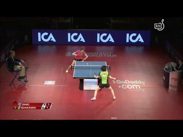 Kasumi Ishikawa vs Ding Ning (Swedish Open 2017) WS 1/2