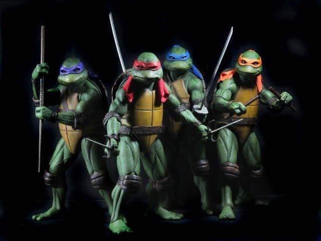 Teenage Mutant Ninja Turtles: 8-Bit. OpenBor [Прохождение / Walkthrough]