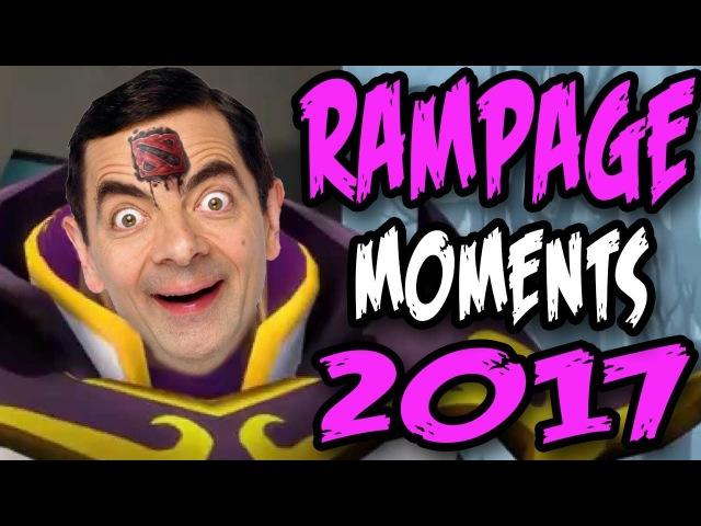 Dota 2 Comics RAMPAGE Compilation 2017