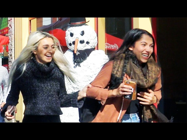 Scary Snowman US Tour 2017 - Can You Watch Them All? Hidden Camera Practical Joke