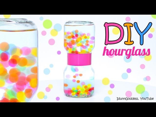 How To Make An Orbeez Hourglass – DIY Water Beads Liquid Hourglass
