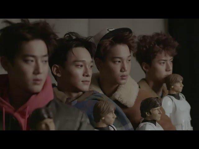 [HD] 151204 EXO Sehun, Suho, Chen, KAI - Vogue Korea Magazine Making Film.