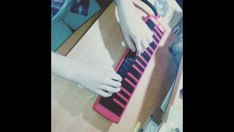 "Melissa on Instagram: ""Обожаю эту песню! ☺ step one~ 😊 @rybakofficial ピアニスト pianica melodica cover melodicacover ThatsHowIwriteAsong Rybak ..."
