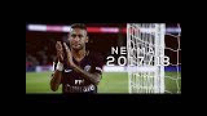 Neymar Jr - Crazy Dribbling Skills 2017/18   PSG