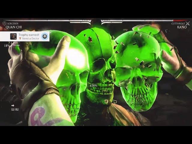 Mortal Kombat XL - All X-Ray Attacks