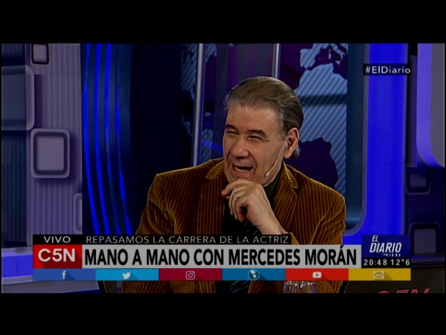 C5N - El Diario: Entrevista a Mercedes Morán