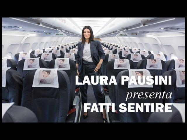 Laura Pausini in aereo presenta l'album