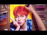 Drawing Zico. Block B - speed drawing  drawholic