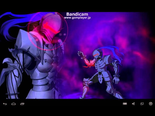 Fate/Grand Order : berserker Lancelot noble phantasm