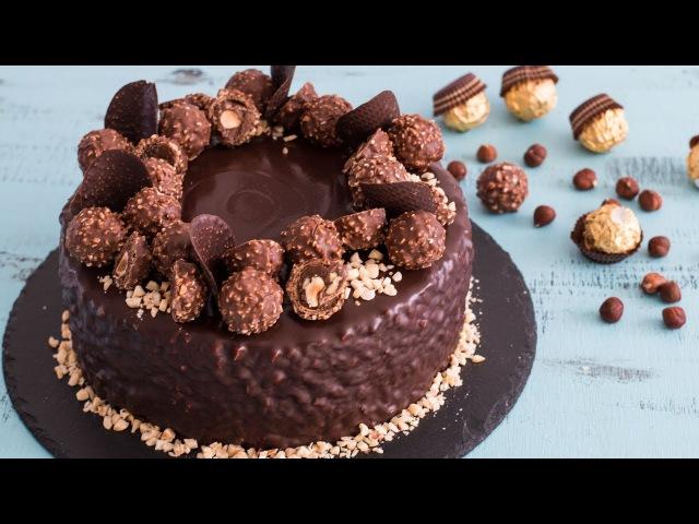 Ferrero Rocher Cake - 4k video