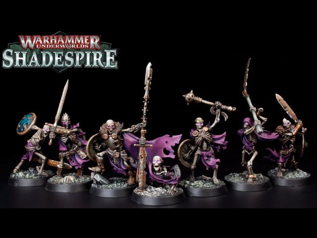 How to Paint Shadespire Skeletons - Sepulchral Guard