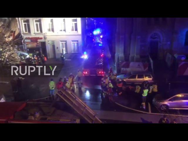 Belgium: Buildings collapse following huge explosion in Antwerp