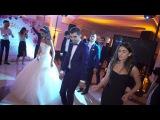 Movses &amp Eliza wedding flash mob dance