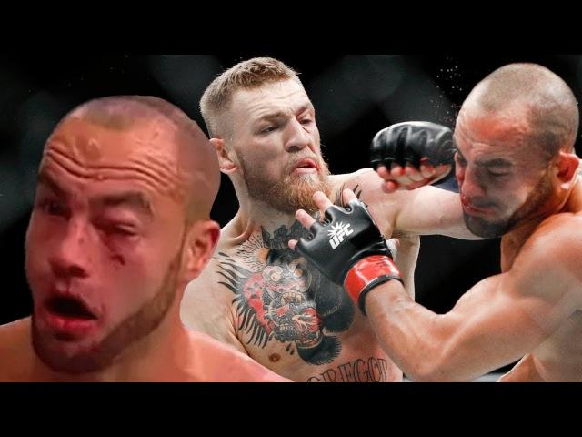 МАКГРЕГОР - АЛЬВАРЕС / УНИЖЕНИЕ ВЫСКОЧКИ НА UFC 205 !