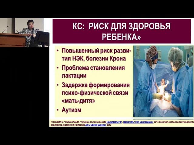 Формирование микробиома младенцев: от чего оно зависит? Захарова И.Н. ( PediatrRussia). педиатрия детское здоровье
