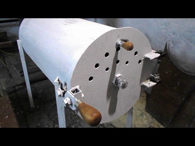 Печка буржуйка КПД супер
