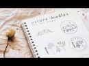 ● Nature doodles for your bujo. (Notebooks.) (1080p.) ~