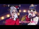 [King of masked singer] 복면가왕 - 'Santa Grandmother' VS 'Nutcracker' 1round - COUPLE 20171224