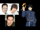 Anime Voice Comparison- Roy Mustang (Fullmetal Alchemist)