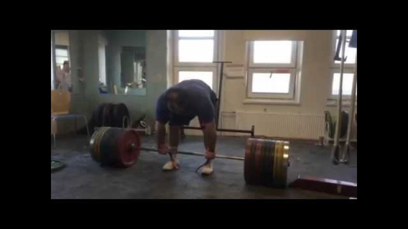 Zahir Khudayarov Dedlift 380 x 1 time RAW