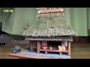 DIY Miniature Dollhouse kit Thatched Roof House of Miyama ミニチュア美山の茅葺き民家キット作り